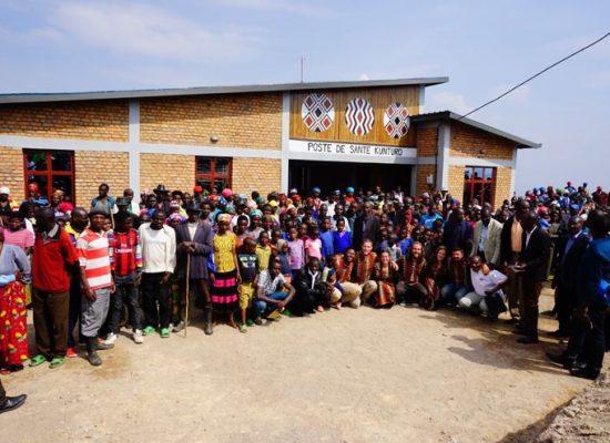 Semaine 16 et 17 de chantier: Le projet Rwanda est maintenant terminé!