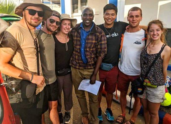 Arrivée du PRÉCI 2019 en Tanzanie